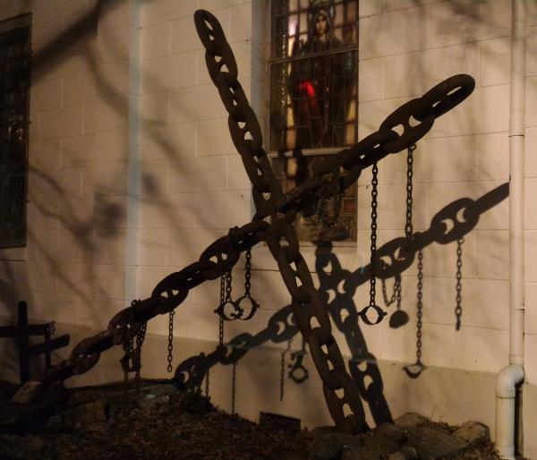 cross, metal cross, Christianity, slavery