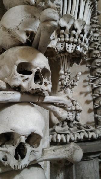 Bones at the Kutna Hora Ossuary