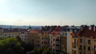 Apartment buildings in Prague, Czech Republic