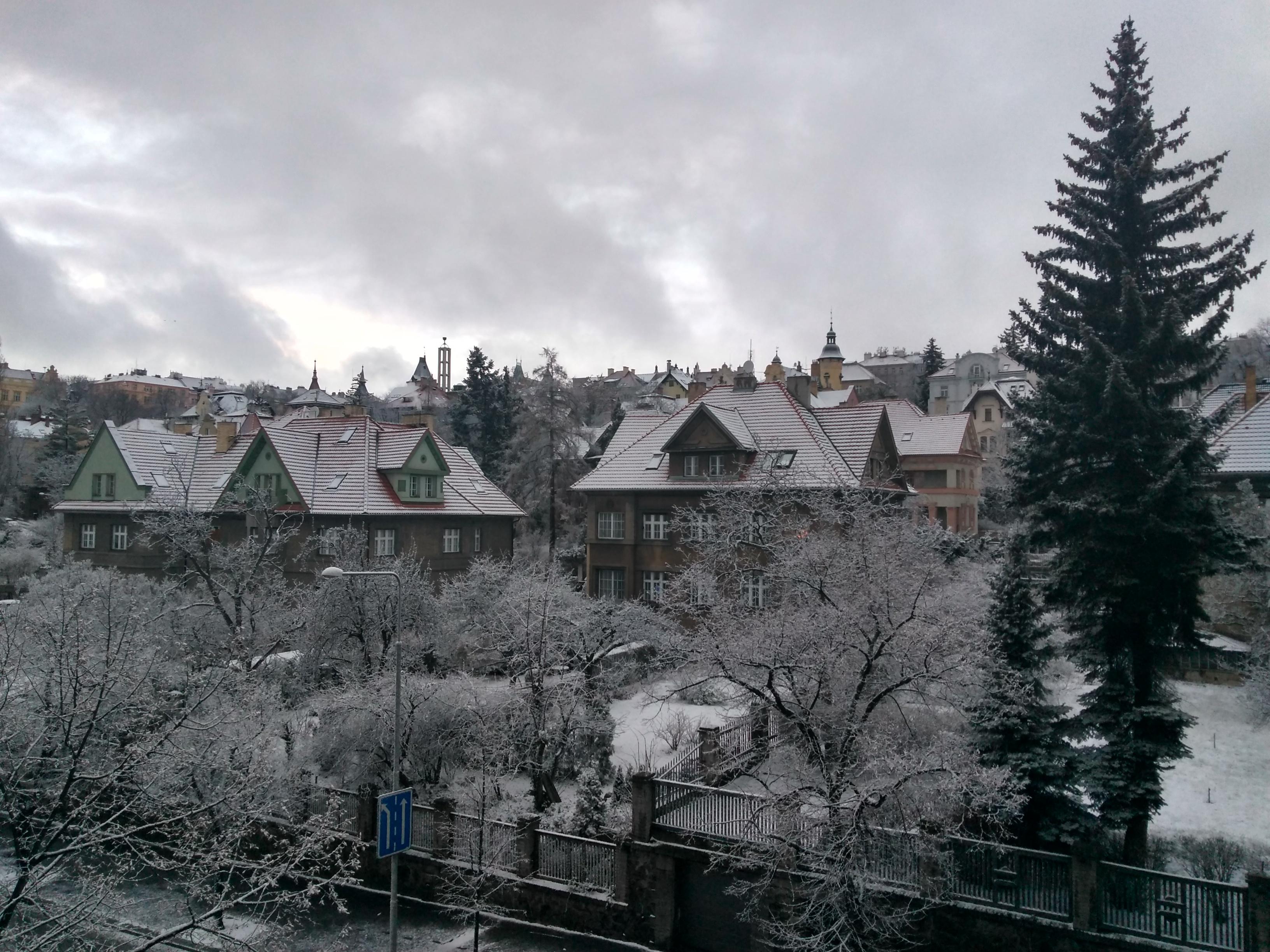 Wintery Vrsovice