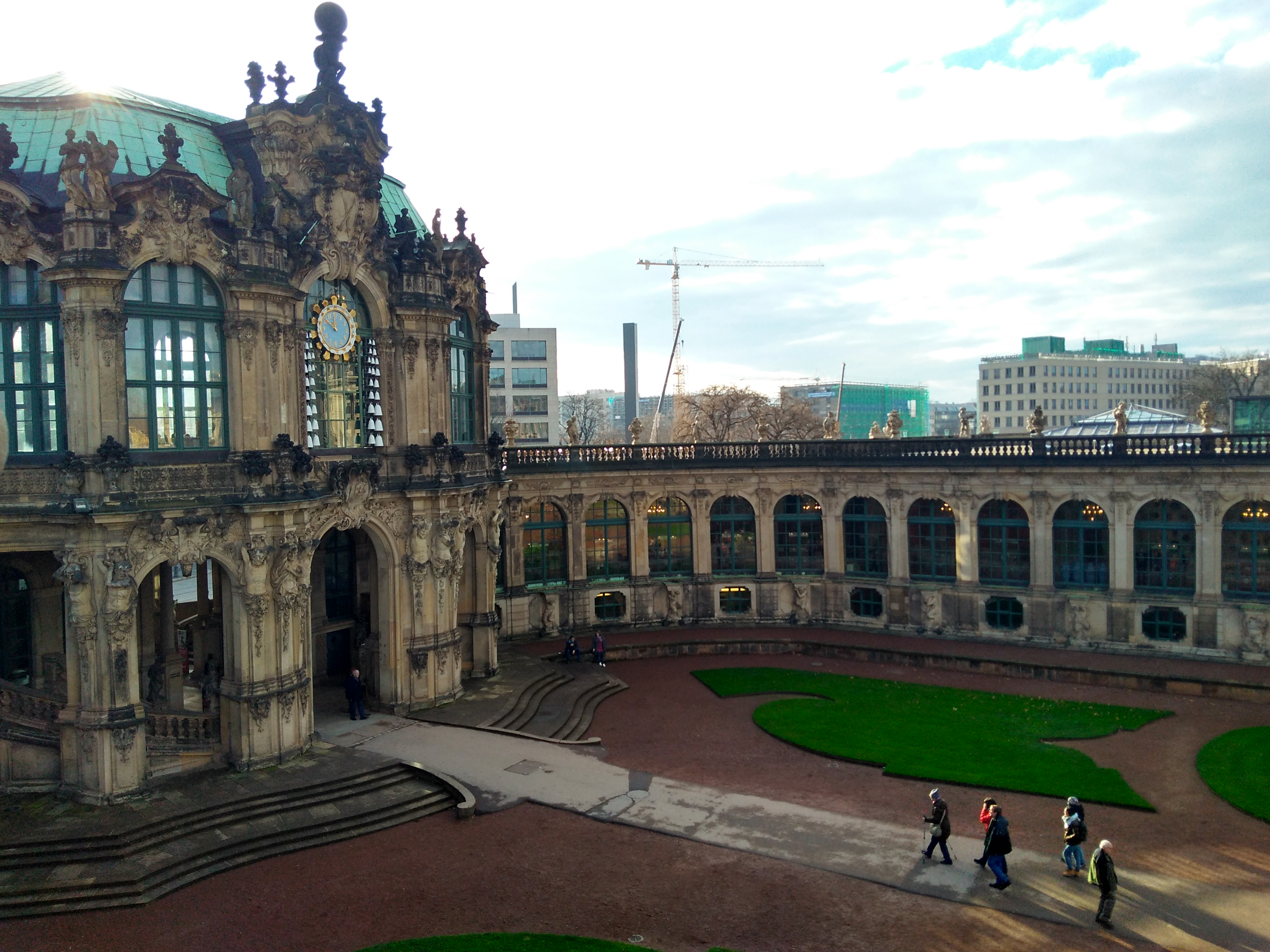 visiting dresden in winter