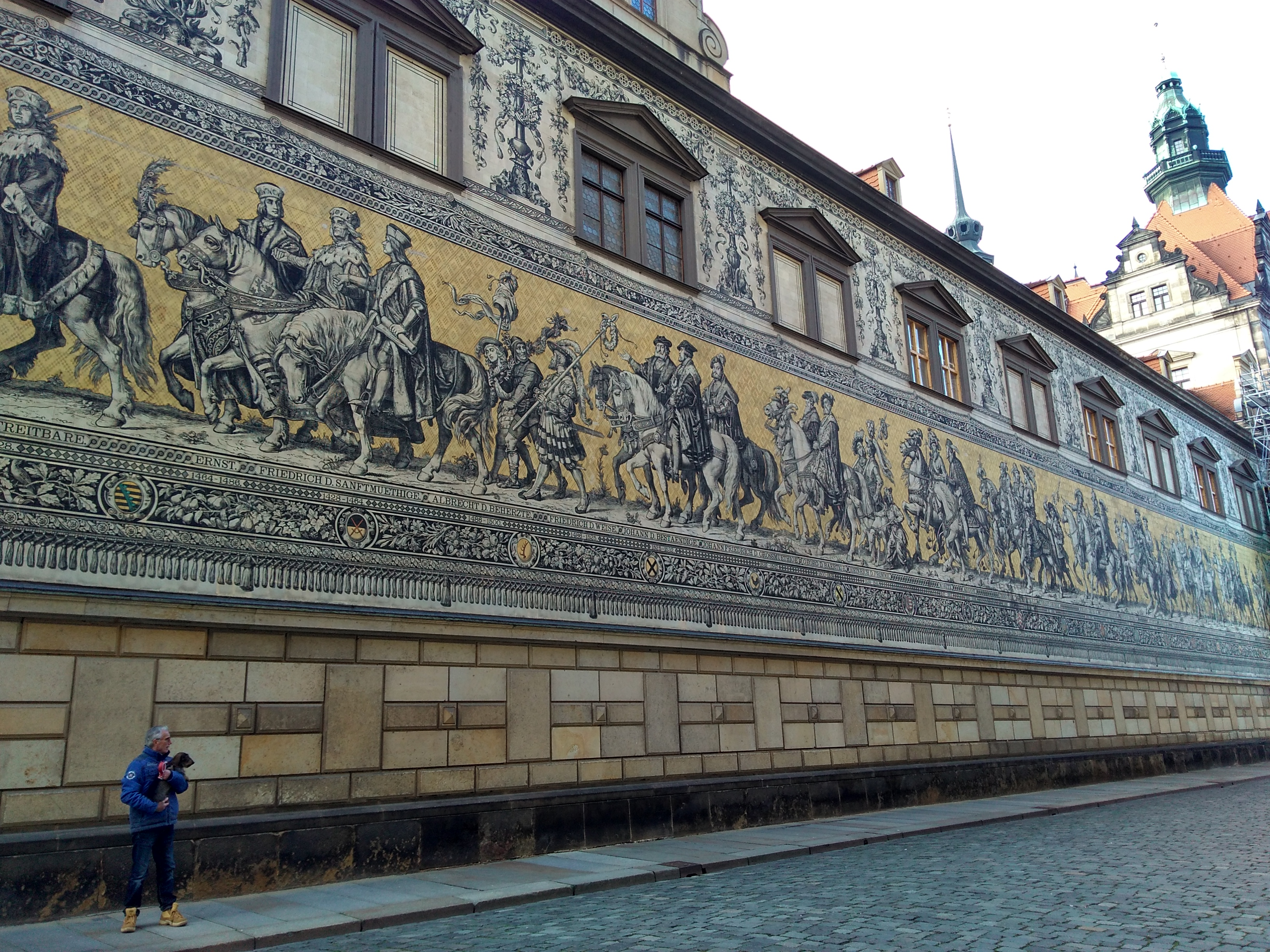 Procession of Princes, Dresden