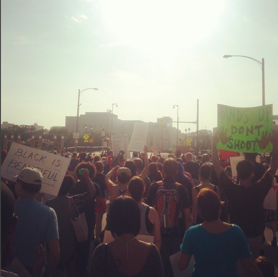 Black Lives Matter Milwaukee Protest